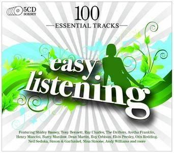 VA - 100 Essential Easy Listening Hits (5CD, 2009)