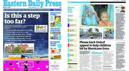 Eastern Daily Press – September 11, 2017