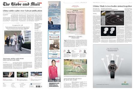 The Globe and Mail – January 03, 2019