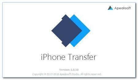 Apeaksoft iPhone Transfer 1.0.12 Multilingual