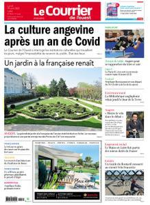 Le Courrier de l'Ouest Angers – 19 avril 2021