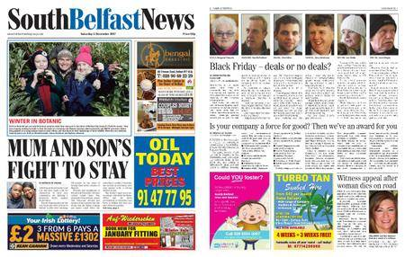 South Belfast News – December 01, 2017