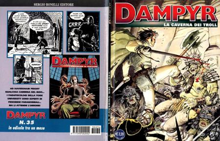 Dampyr - Volume 34 - La Caverna dei Troll