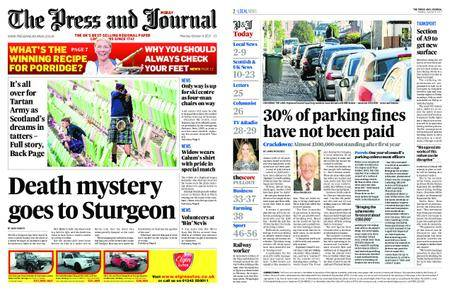The Press and Journal Moray – October 09, 2017