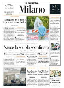 la Repubblica Milano - 15 Giugno 2020