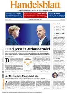 Handelsblatt - 10. Oktober 2017