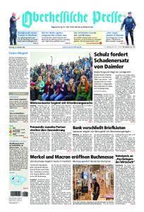 Oberhessische Presse Marburg/Ostkreis - 10. Oktober 2017