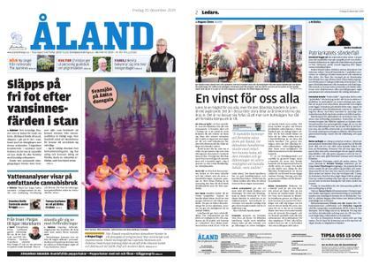 Ålandstidningen – 20 december 2019