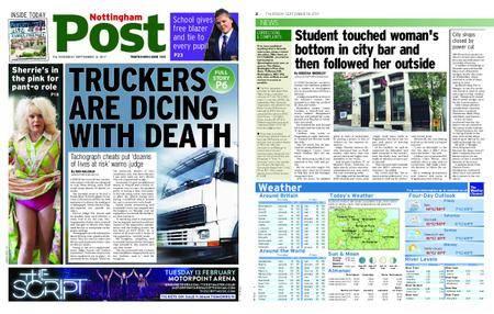 Nottingham Post – September 14, 2017