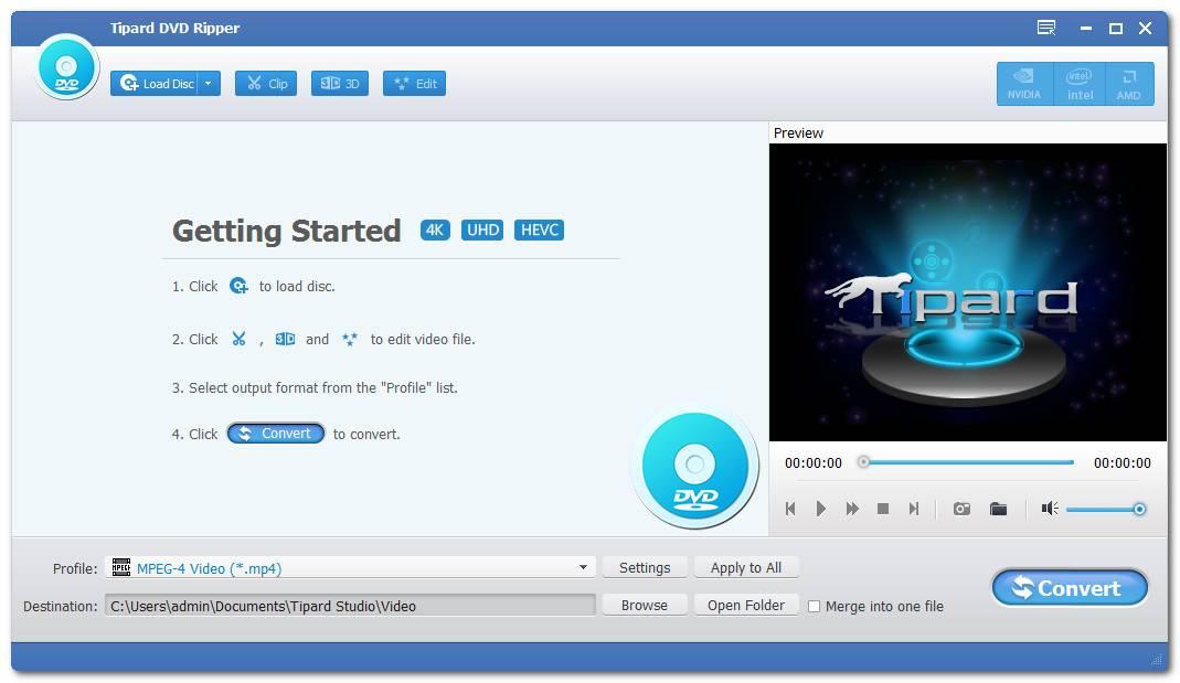 Tipard DVD Ripper 9.2.26 Multilingual