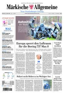 Neue Oranienburger Zeitung - 13. März 2019