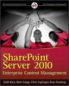 SharePoint Server 2010 Enterprise Content Management [Repost]