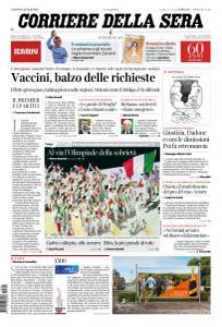 Corriere della Sera - 24 Luglio 2021