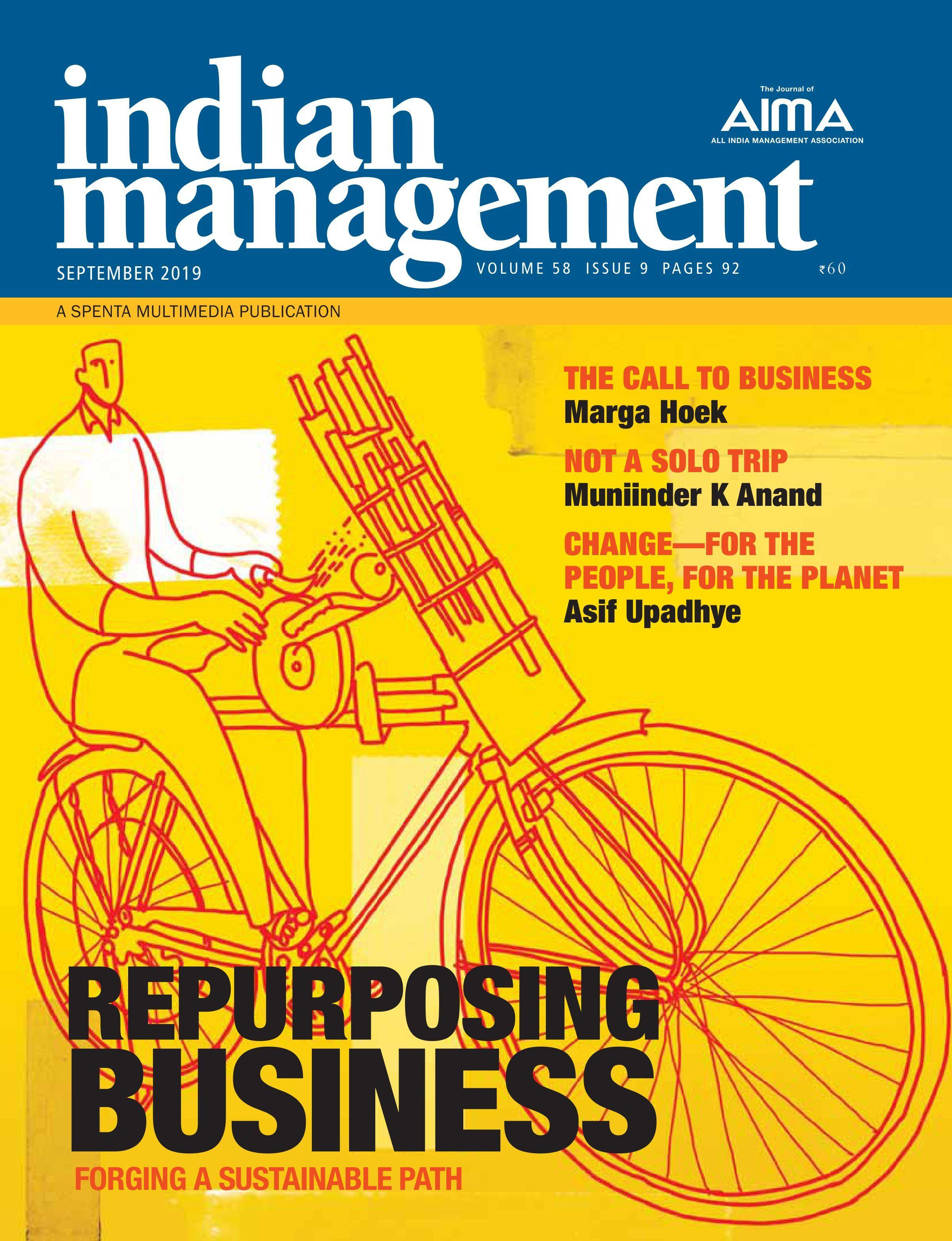 Indian Management – September 2019