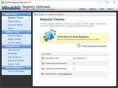 WinASO Registry Optimizer 5.7.0 + Portable