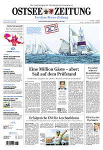 Ostsee Zeitung Wolgast - 13. August 2018