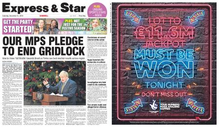 Express and Star Sandwell Edition – December 14, 2019