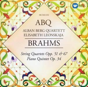 Johannes Brahms - Alban Berg Quartett - String Quartets & Piano Quintet (2016) {2CD Warner Classics}