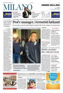 Corriere della Sera Milano - 11 Ottobre 2017