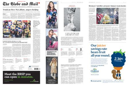 The Globe and Mail – January 28, 2019