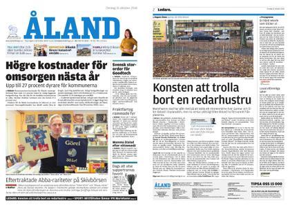 Ålandstidningen – 31 oktober 2018