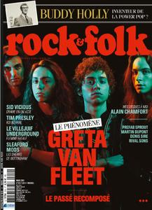 Rock & Folk - mars 2019