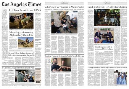 Los Angeles Times – August 28, 2021