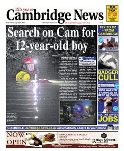Cambridge News 2013.08.28