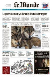 Le Monde du Mercredi 21 Février 2018