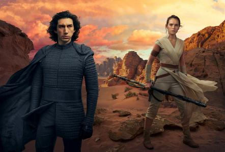 Star Wars: Episode IX – The Rise of Skywalker behind the scenes by Annie Leibovitz for Vanity Fair Summer 2019