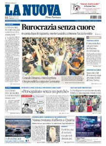 La Nuova Sardegna Nuoro - 25 Aprile 2019