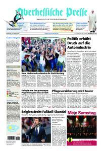 Oberhessische Presse Marburg/Ostkreis - 11. Oktober 2018