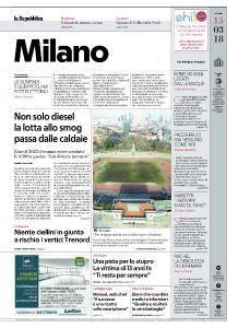la Repubblica Milano - 15 Marzo 2018
