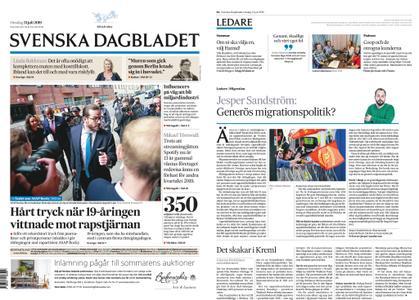 Svenska Dagbladet – 31 juli 2019