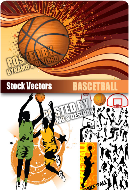 Bascetball - Stock Vectors