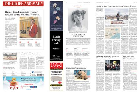 The Globe and Mail – December 03, 2019