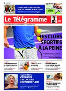 Le Télégramme Brest Abers Iroise – 25 octobre 2020