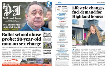 The Press and Journal Moray – April 02, 2021