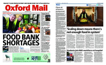 Oxford Mail – March 23, 2020