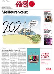 Ouest-France Édition France – 02 janvier 2021