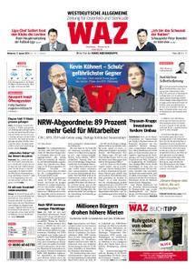 WAZ Westdeutsche Allgemeine Zeitung Oberhausen-Sterkrade - 17. Januar 2018