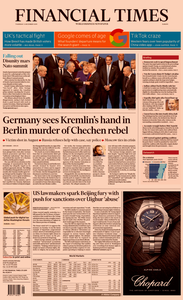 Financial Times Europe – 05 December 2019
