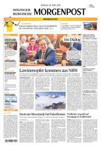Solinger Morgenpost – 29. April 2019