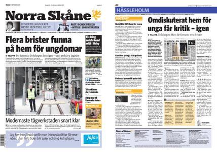 Norra Skåne – 17 september 2019