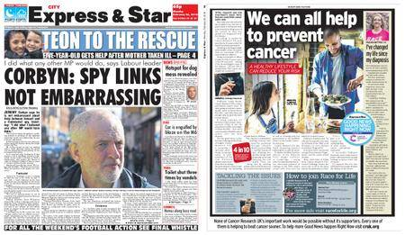Express and Star City Edition – February 26, 2018