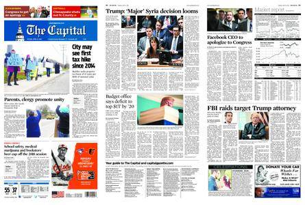 The Capital – April 10, 2018