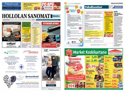 Hollolan Sanomat – 18.09.2019