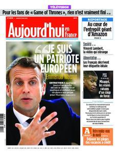 Aujourd'hui en France – 21 mai 2019