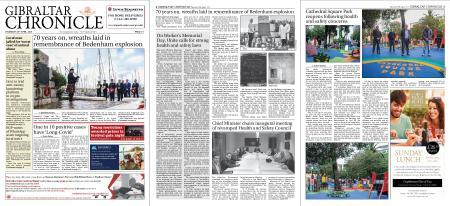 Gibraltar Chronicle – 29 April 2021