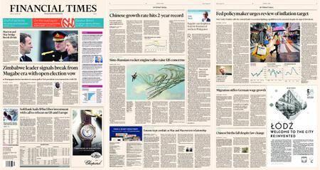 Financial Times Europe – 19 January 2018